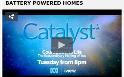 Battery Powered Homes – ABC Catalyst